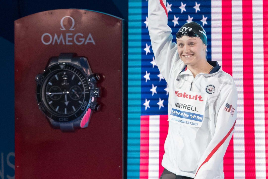 U.S. Team Breaks Mixed Medley Relay World Record
