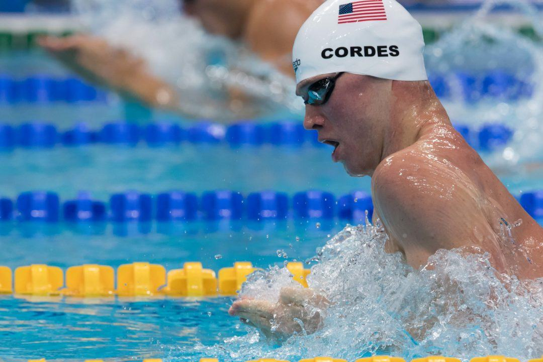 SwimSwam Pulse: 42% Pick Cordes To Lead U.S. Breaststrokers