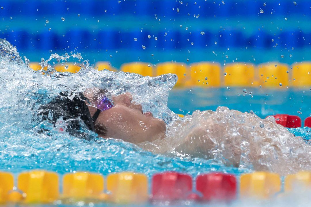 Russia's Kolesnikov Lowers Own 100 Back World Junior Record In Rome