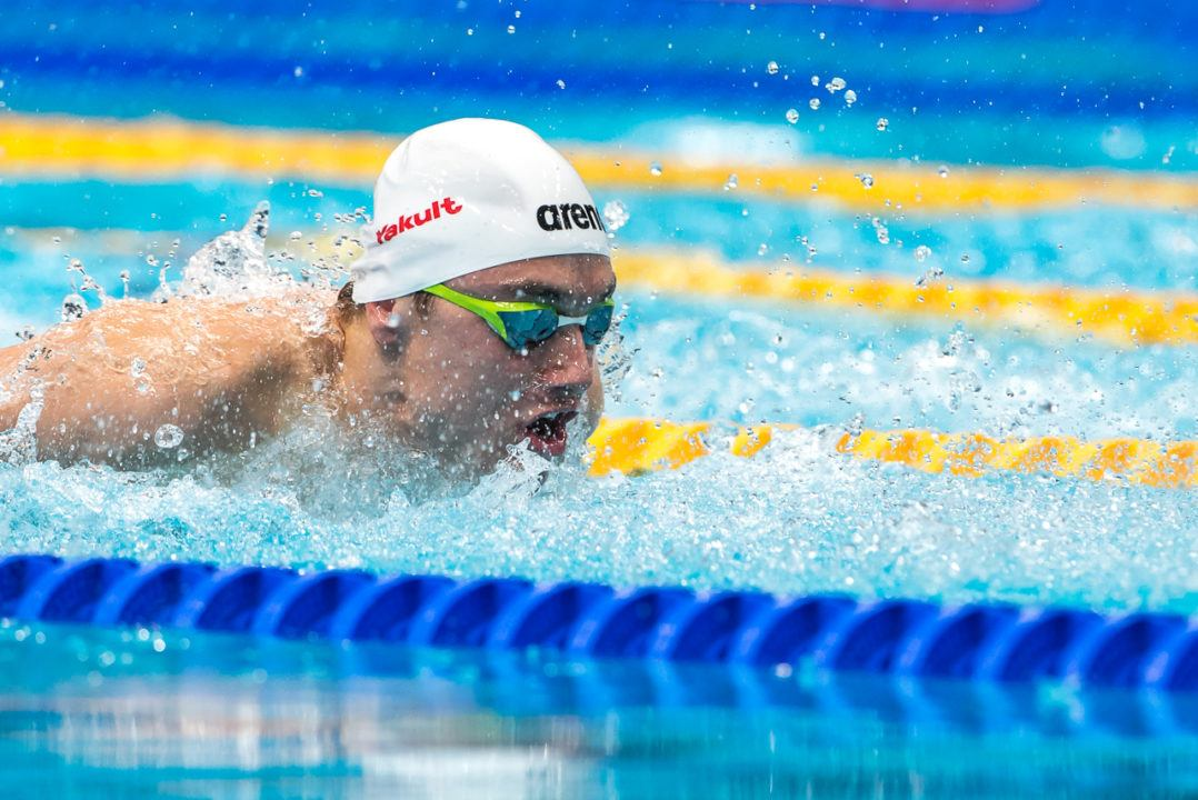 Kristof Milak Breaks European Championship Record in 200 Fly