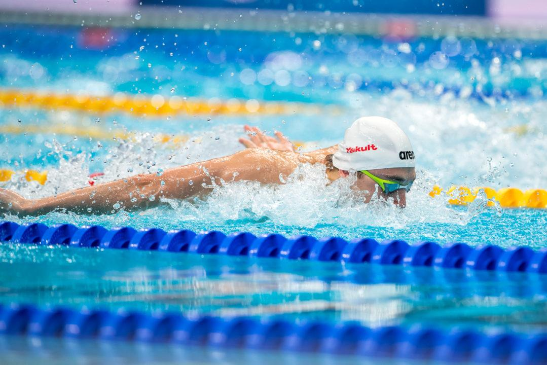 Kristof Milak Dominates 200 Fly at 2019 Gyor Open
