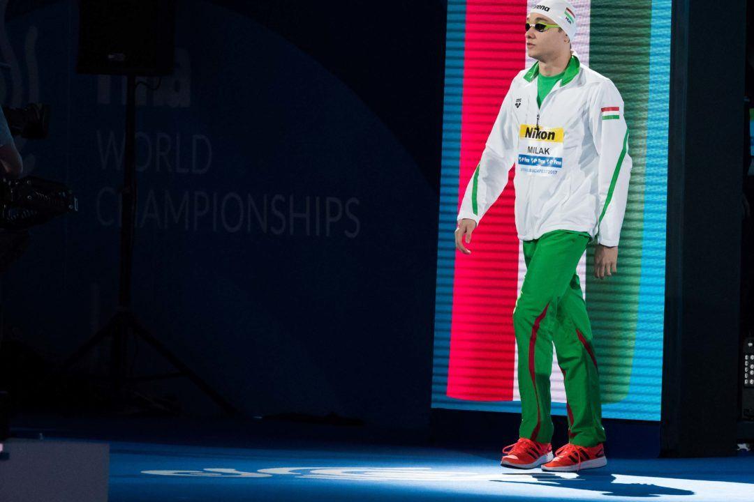 Budapest 2017: Ungar Milak erneut mit Juniorenweltrekord und Silber
