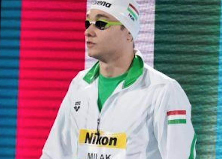 Hungarian Kristof Milak Scheduled to Swim 9 Events at the 2018 YOGs