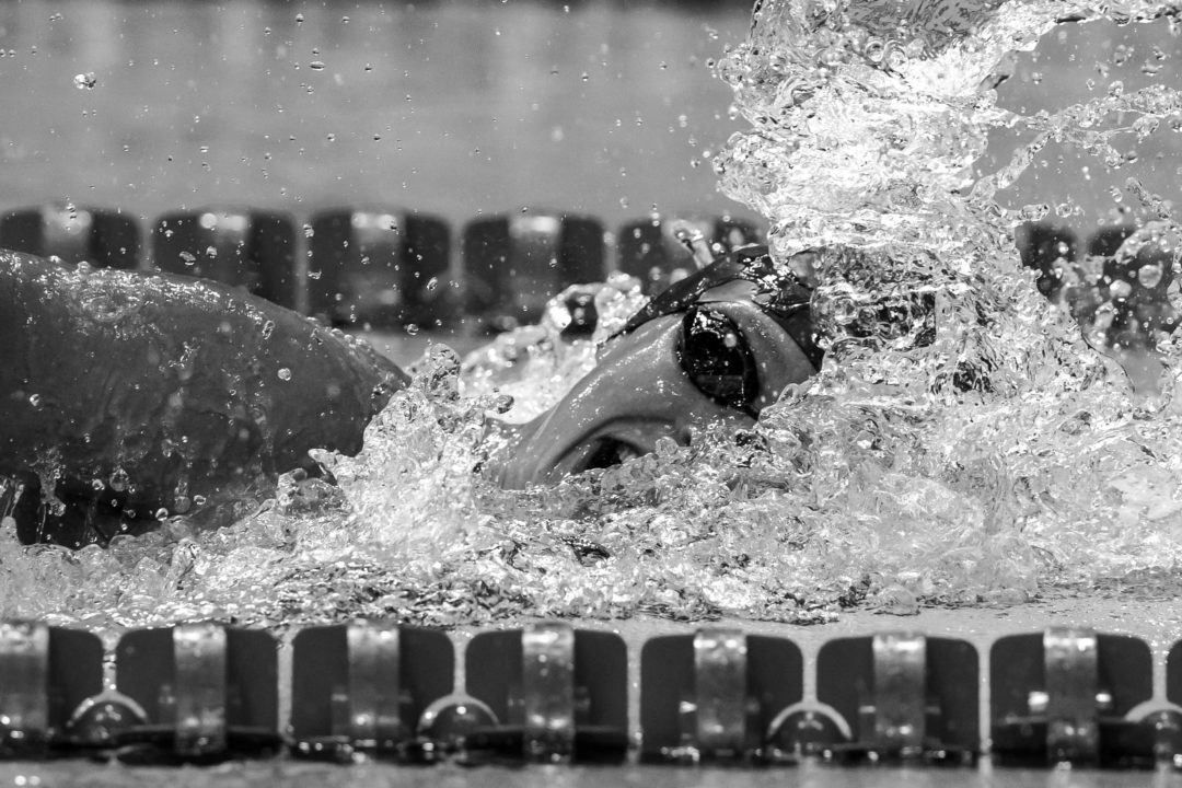 Ledecky's String of Individual Victories Ends with 200 Free Silver