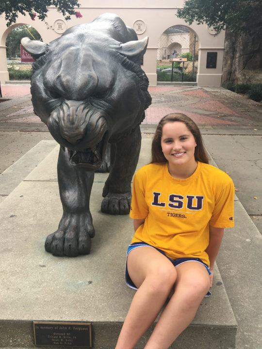 Louisiana HS Record-holder from Class of 2019, Jolee Liles, Commits to LSU