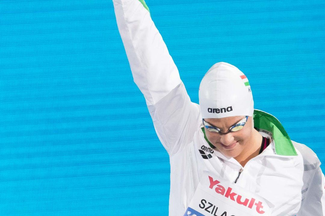 Youth Olympic Champ Liliana Szilagyi Won't Swim for Florida This Year