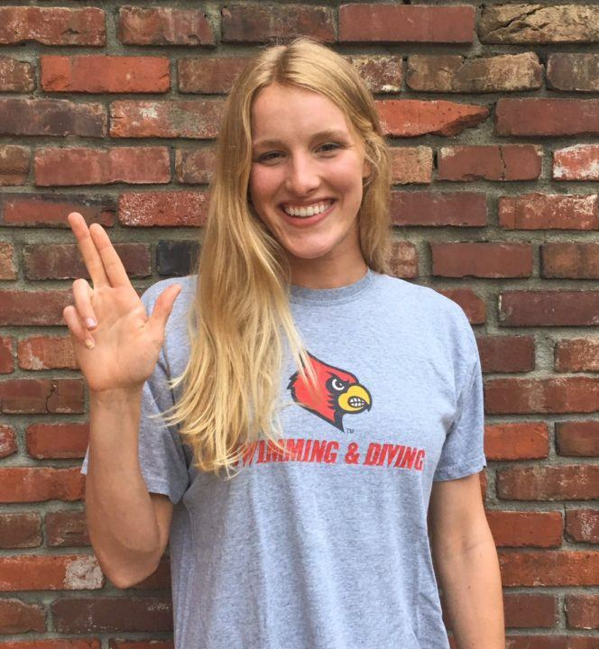 Louisville Receives Verbal Commitment from In-State Fly/IMer, Kelly Tichenor
