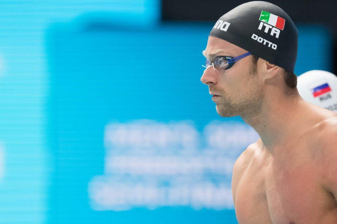 Luca Dotto Beats Santo Condorelli in 50 Free in Italy