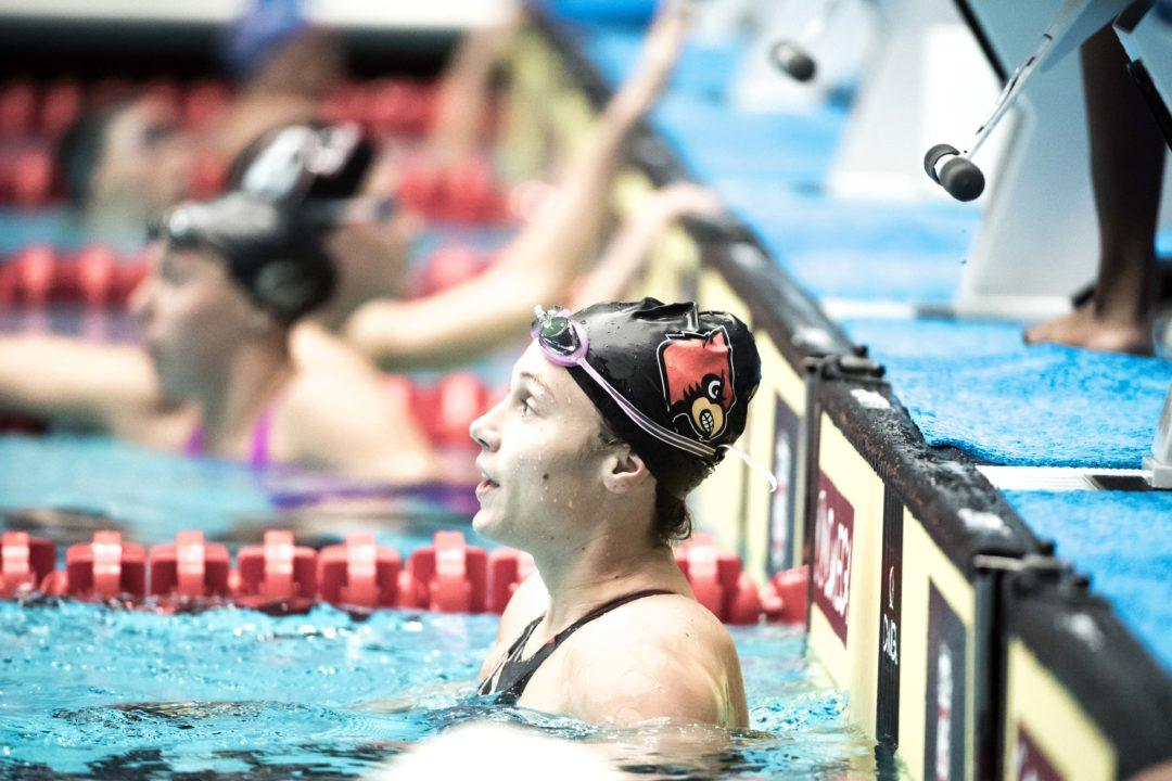 Comerford Posts 1:41.7 200 Free, 50.7 100 Fly Split at SMU Classic