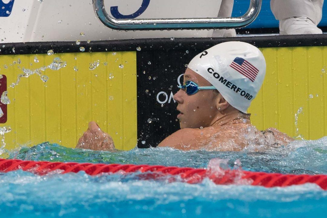 2018 Women's ACCs Day 1: Comerford Blasts 1:40.26 800 Free Relay Split