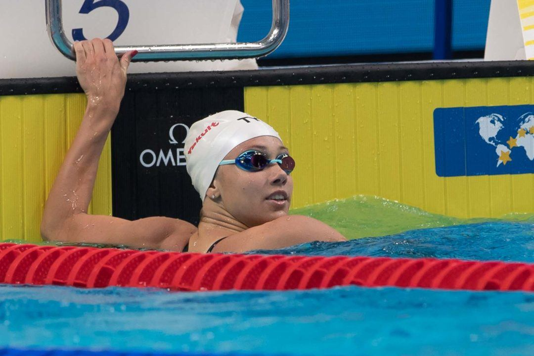 Mallory Comerford Breaks Missy Franklin's SCM 200 Free American Record