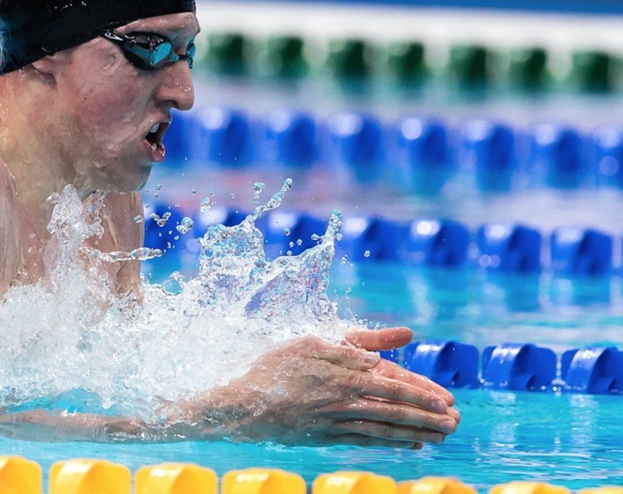Max Litchfield Breaks British 400 IM Record In Prelims
