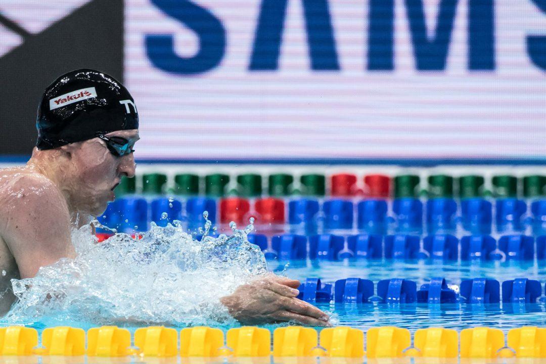 Britische Schwimmer trainieren im US Olympic Training Center, Colorado