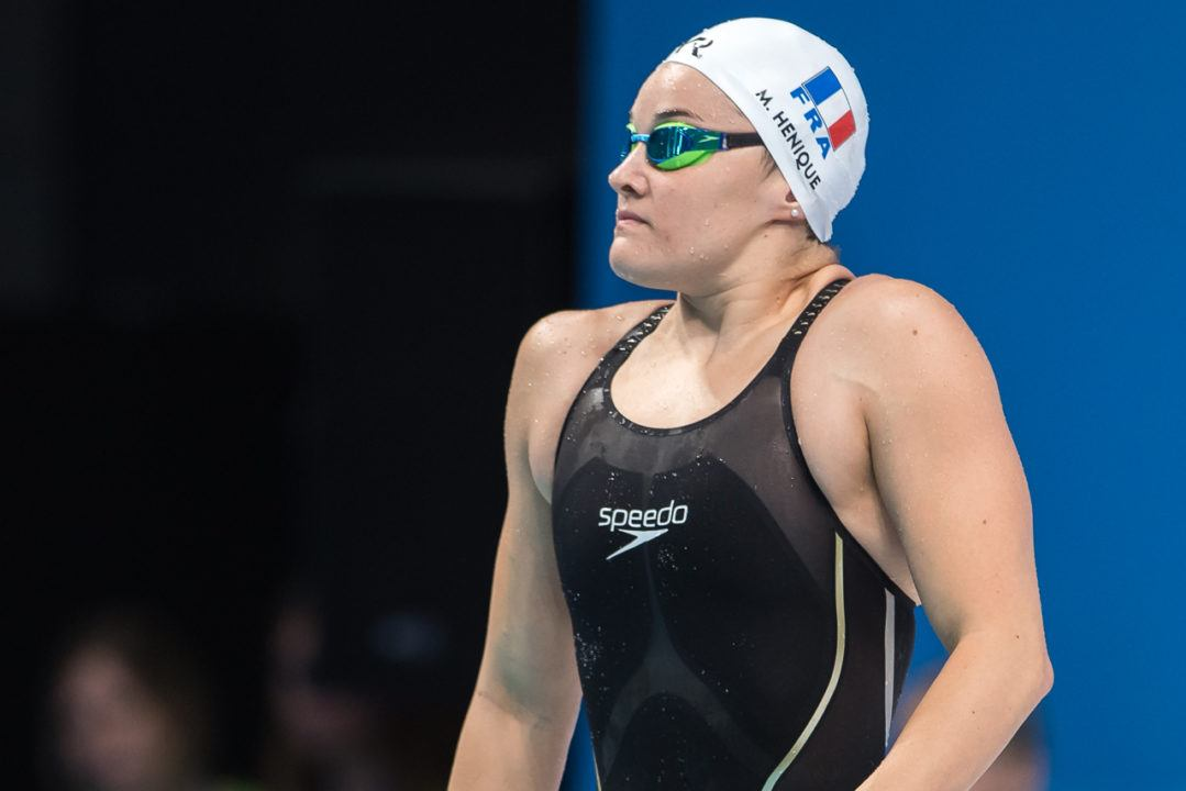 Henique Lowers Own 50 Fly French National Record