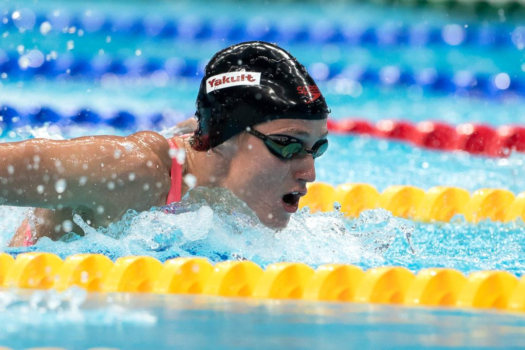 Race Video: Mireia Belmonte Follows 200 Fly Olympic Gold with Worlds Gold