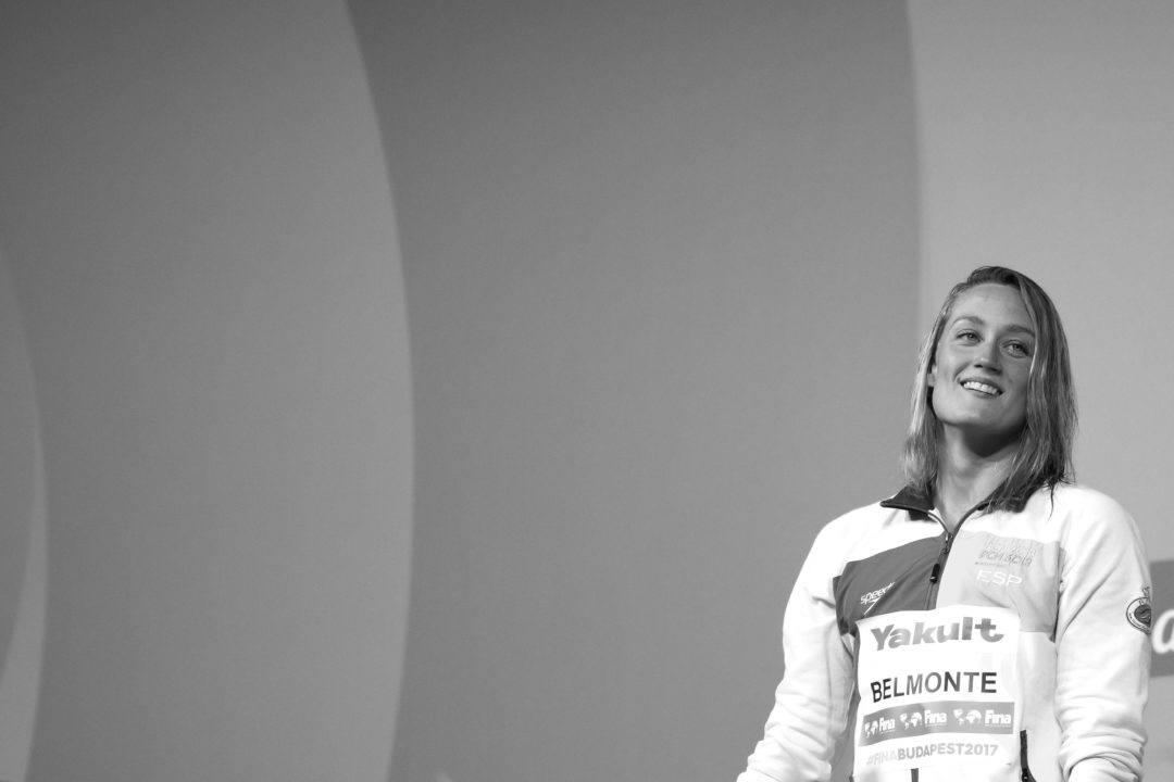 """Mireia Belmonte: """"se hizo justicia con el aplazamiento de los Juegos Olímpicos"""""""