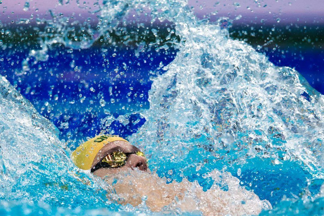 Larkin Blasts 1:55.40 200 Back To Close Aussie Pan Pac Trials
