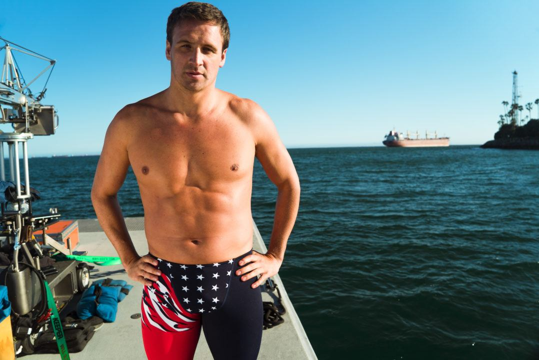 Lochte Joins Team Shark, Says Phelps Has No Chance In Shark Week Race