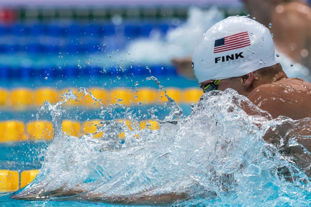 "Fink on Breaststroke Depth: ""We All Make Each Other Faster"" (Video)"