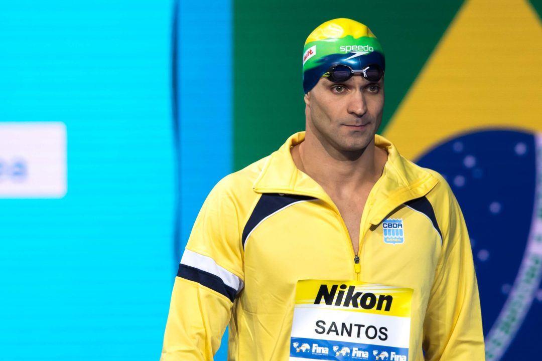 La FINA invite Nicholas Santos à participer aux Championnats du monde 2019