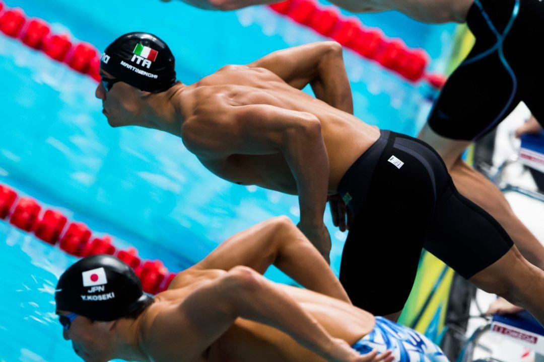 World Junior Record Holder Martinenghi Undergoes Surgery