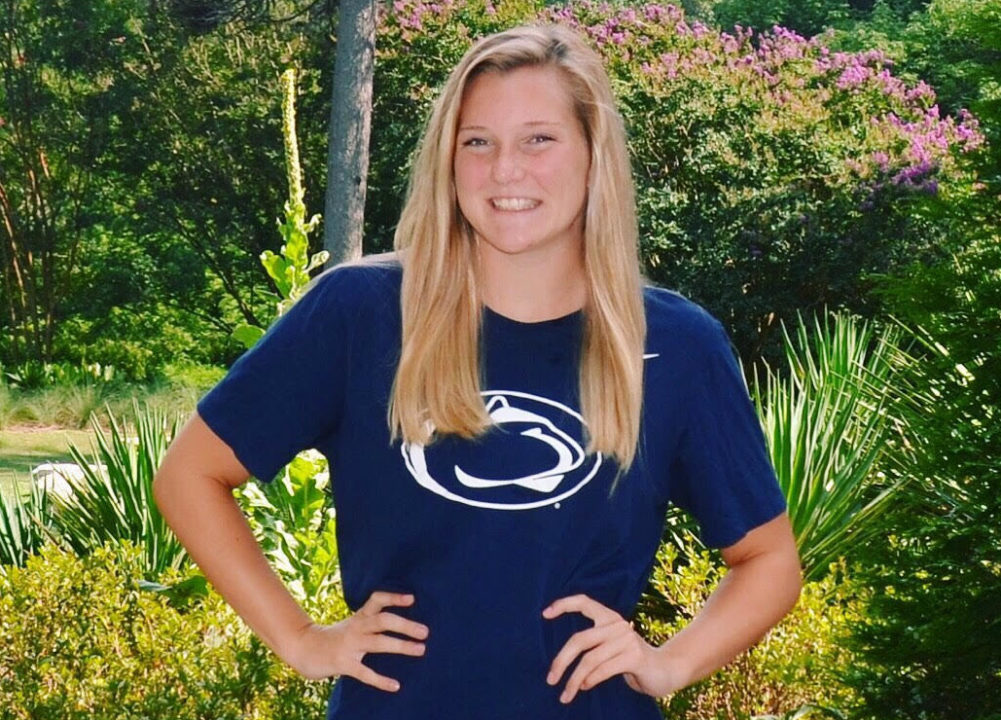Penn State Gets Another Verbal, from North Carolina's Sadie Schumann