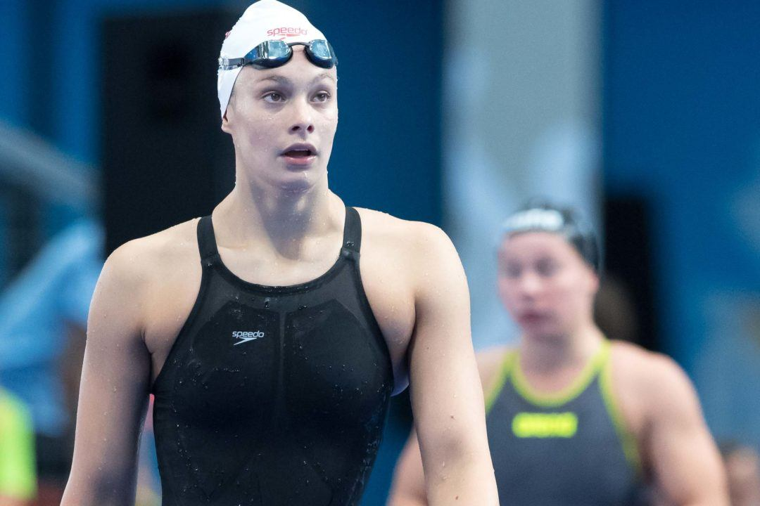 Penny Oleksiak Swims Her 3rd Fastest 200 Fly Ever At Gainesville Day 4