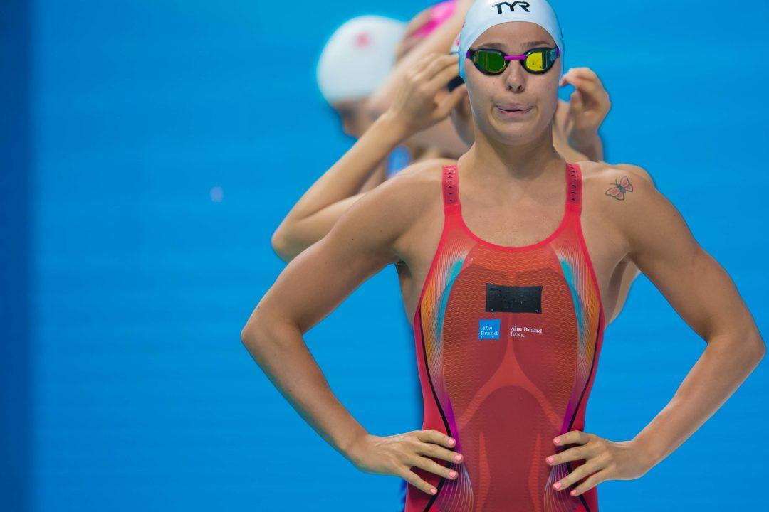 Pernille Blume Breaks Danish Record in 50 Free Again in Finals