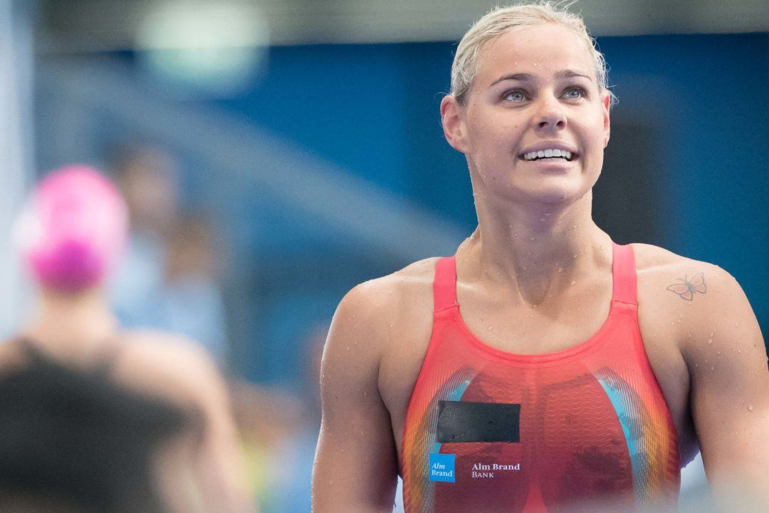 Pernille Blume Breaks Danish Record In 100 Free Preliminaries