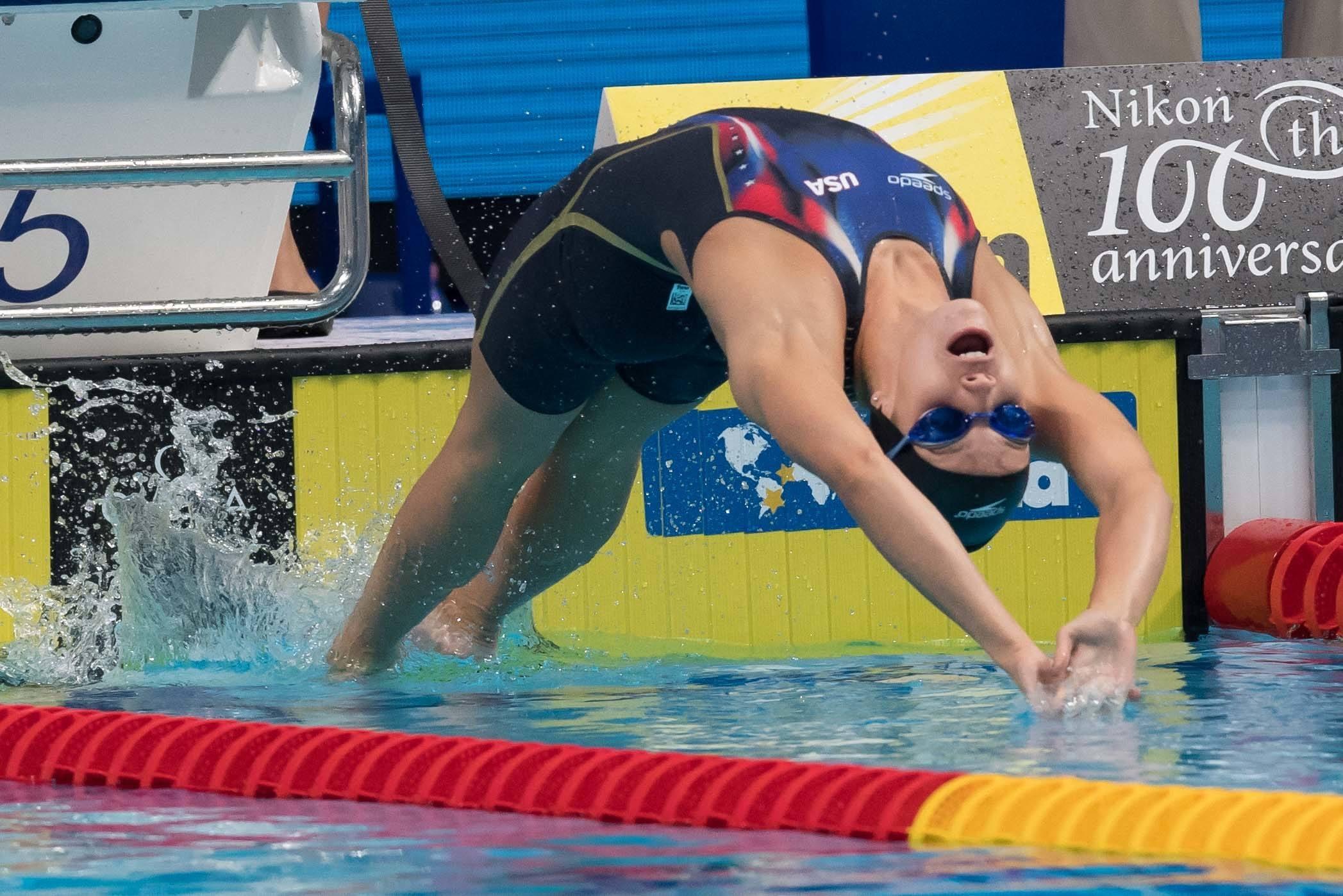 Oleksiak, Ruck power Canada to world junior 4x100m freestyle record