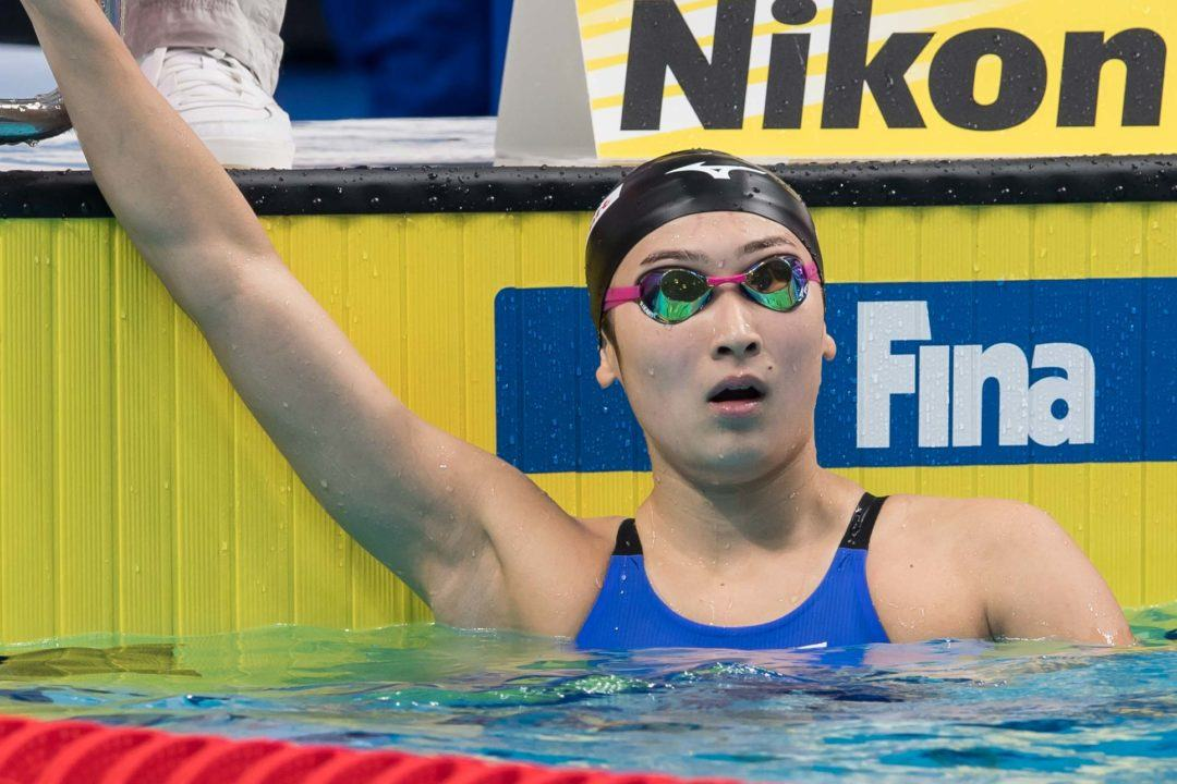 Ikee Cracks WJR in 50 Fly At Tokyo World Cup