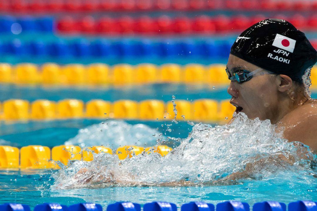 Japon Swim 2018 : Reona Aoki, 1'5s90 au 100 mètres brasse dames