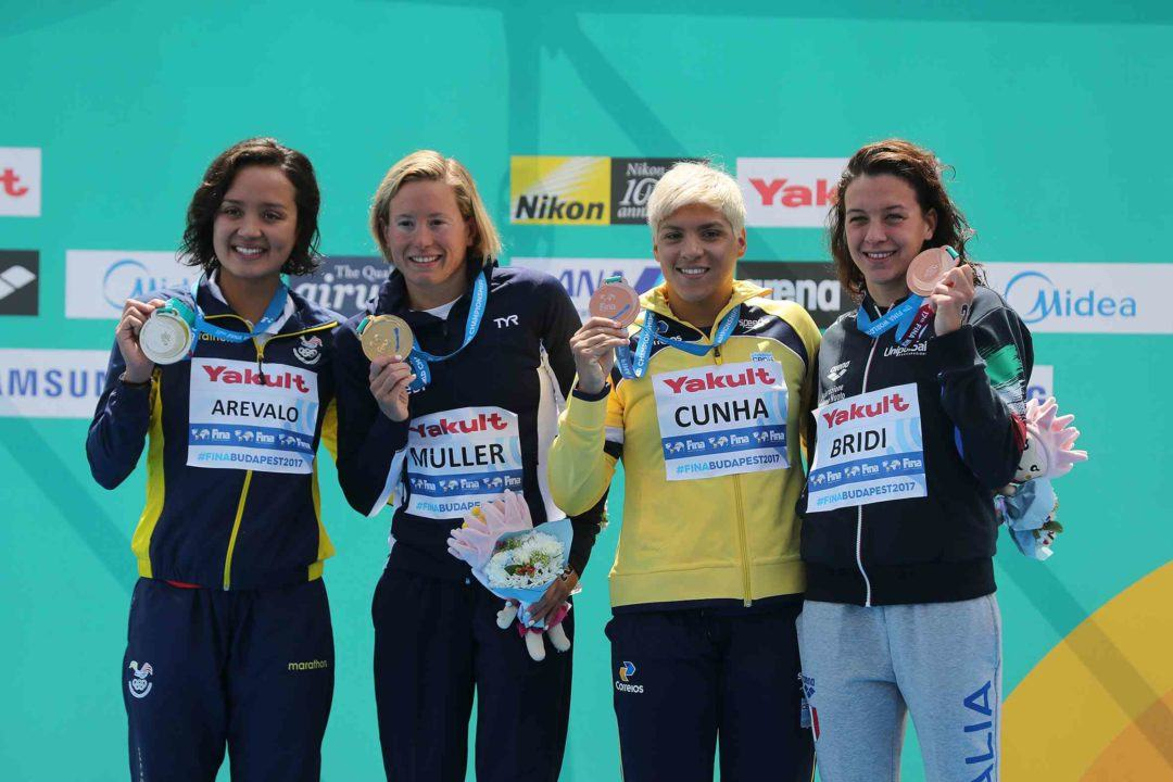 Samantha Arevalo Makes Ecuadorian History With First-Ever Worlds Medal
