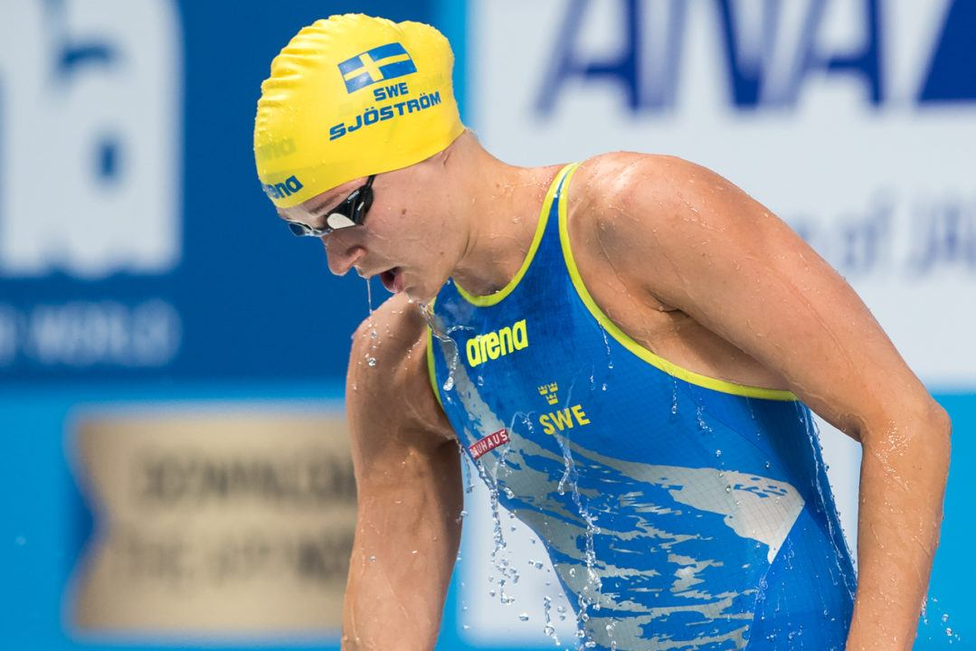 Again! Sjostrom Takes SCM 100 Freestyle World Record Down To 50.58
