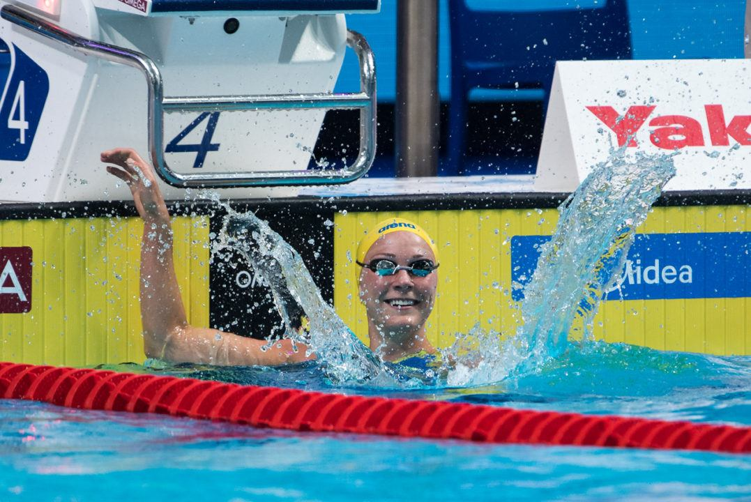 2018 FINA World Cup Kazan: Sjostrom Rocks 23.83 Series Record
