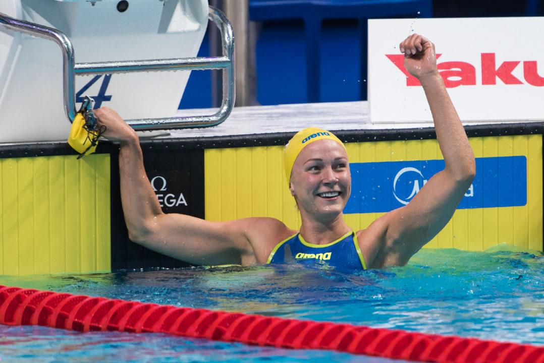 Olympic Champion Sarah Sjostrom Opts Out Of Short Course World C'ships