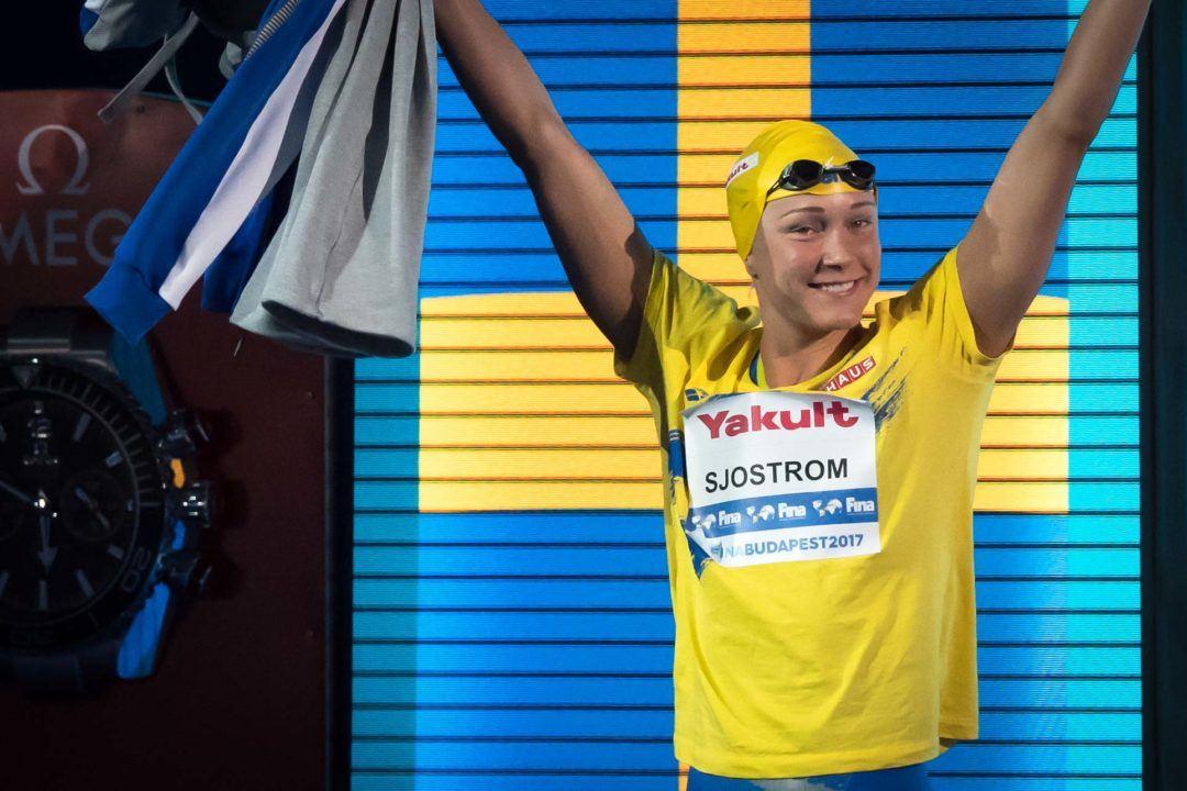 Pour ISL, Sarah Sjöström gagnerait 15 fois plus dans leur concept qu'en remportant la Coupe du monde FINA