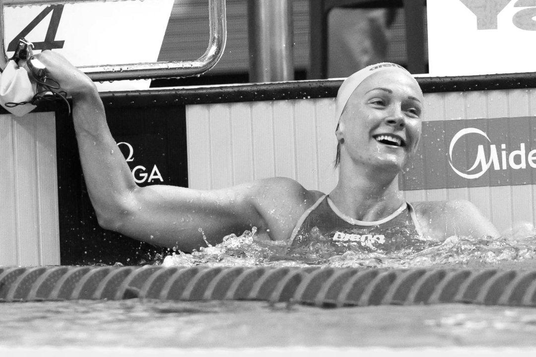 Sjostrom Lowers Own 50 Fly World Cup Record In Doha