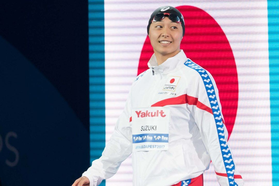 2018 Japan Swim Day 1 Prelims: Suzuki Scores 50 Breast NR