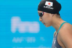 Japanese Duo Doubles Under Asian Games Record in W. 100 Breast