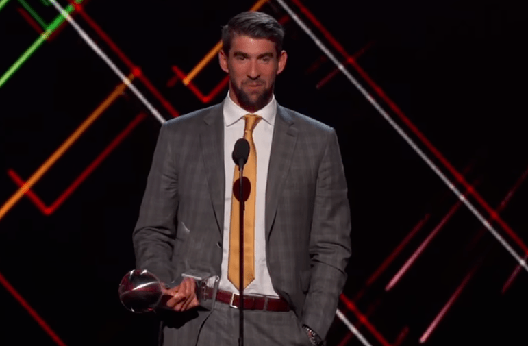 Watch Phelps' 2017 ESPY Awards Speech