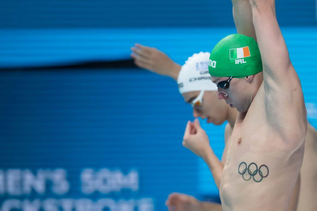 2017 WUGs: Shane Ryan Leads Ireland Relay To New National Record