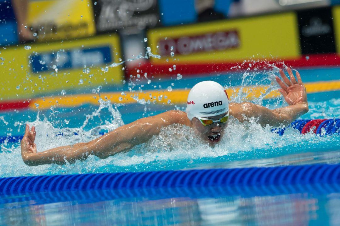 World Cup Singapore Day 1: Wang Shun Produces Chinese NR In 100 IM