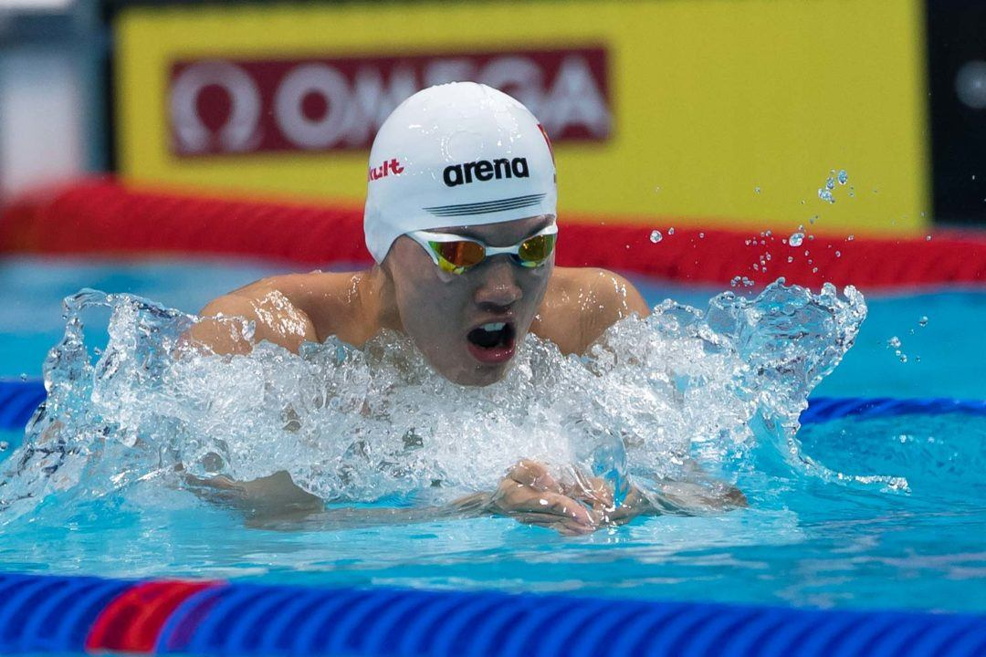 2017 Nat'l Games Of China: Wang Shun Takes 2IM, Ning Zetao Sub-22
