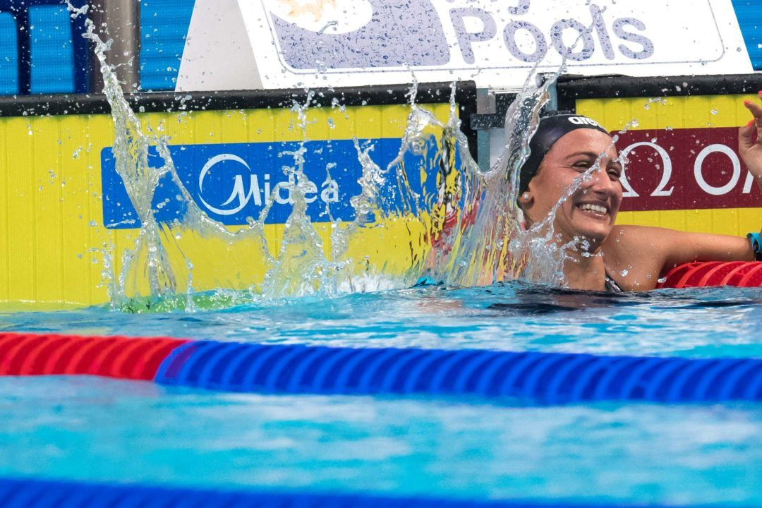 2018 Mediterranean Games Day 1: Quadarella Leads Italian Charge
