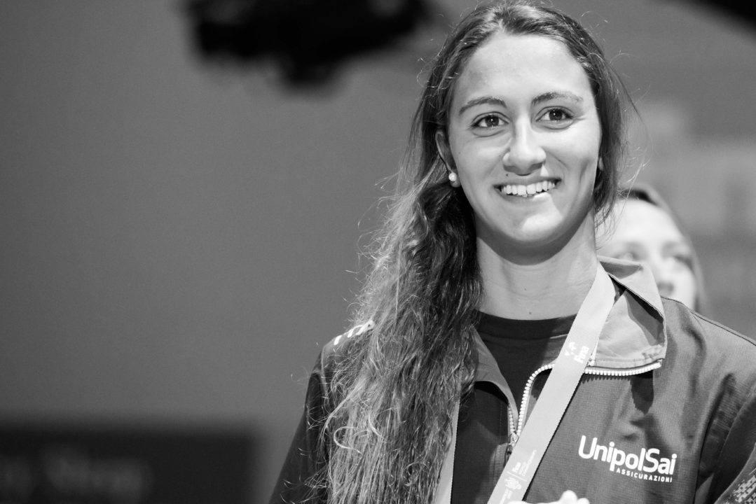 Simona Quadarella Record Italiano 1500sl E Prima Nel Ranking Mondiale