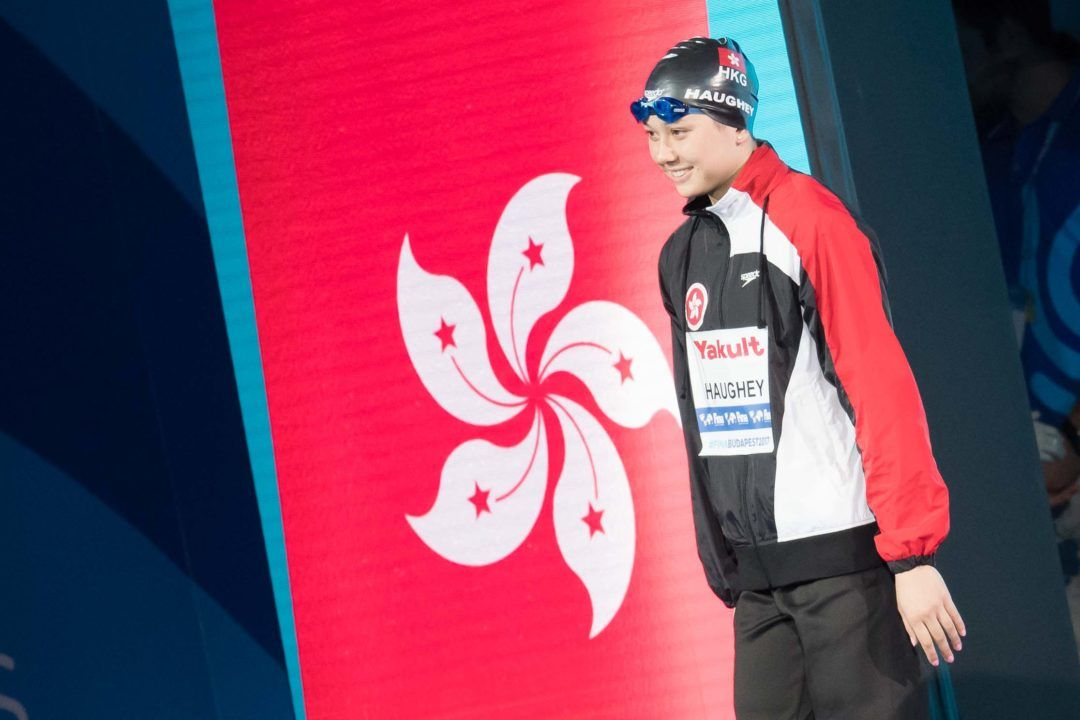 ASIA: Haughey Becomes First Long Course Worlds Finalist for Hong Kong