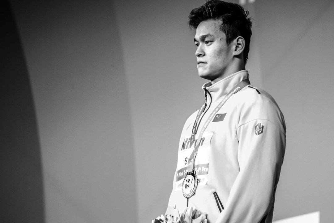 Chinese Swim Association Supports Sun Yang on Defamation Claims