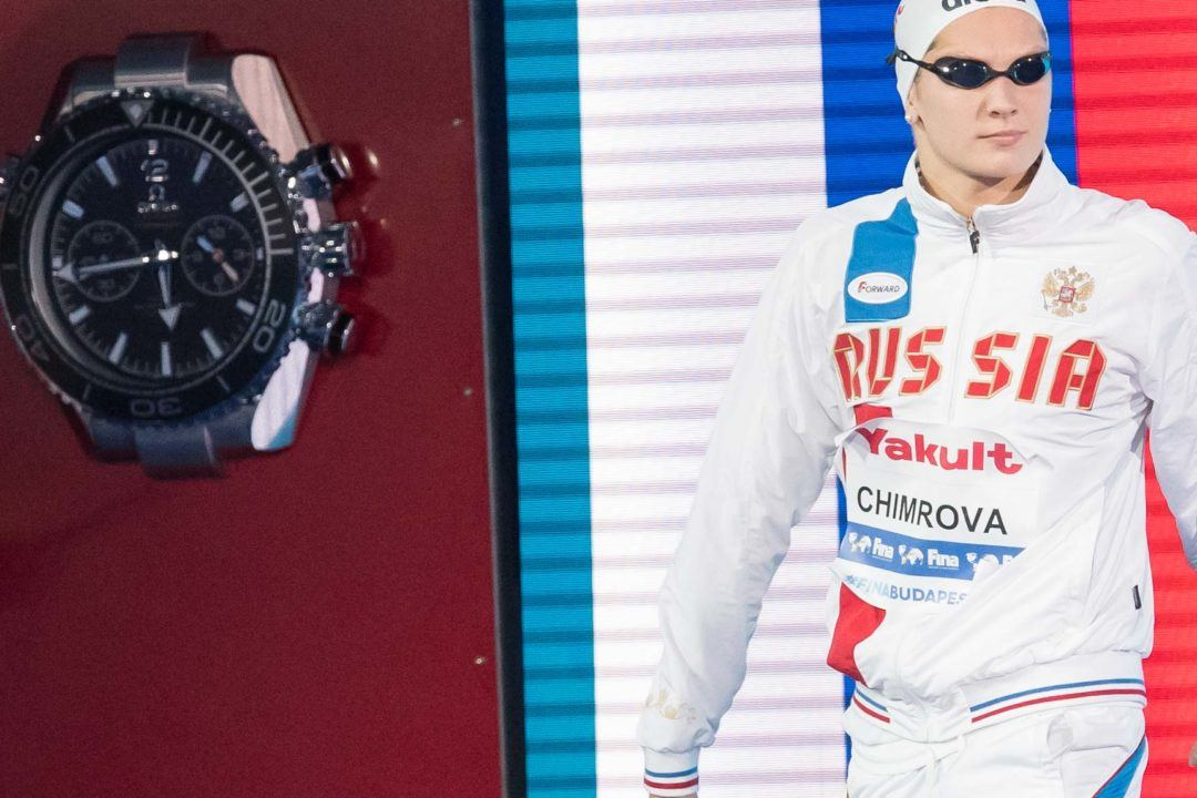 Svetlana Chimrova Downs Own 200 Fly Russian Record in Barcelona