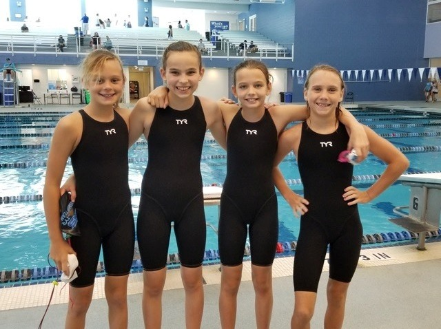 TAC Titans 10 And Under Girls Break Two State Records
